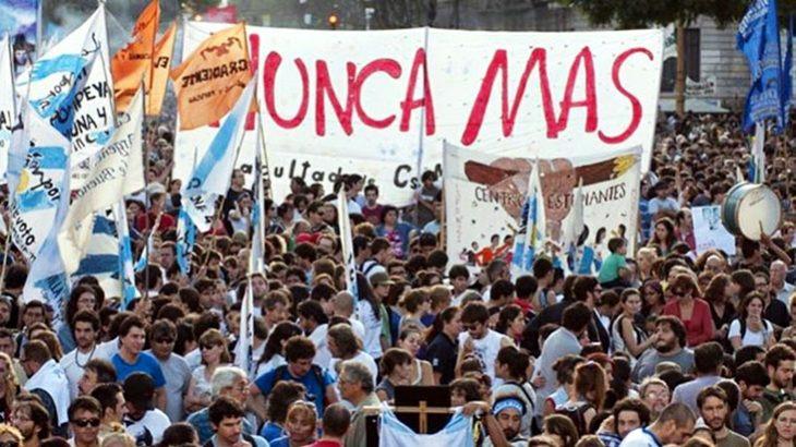 Suspenden histórica marcha del 24 de marzo
