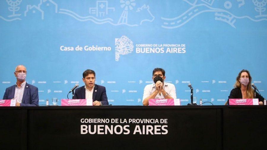 El gobernador Kicillof confirmó que las clases presenciales siguen en Mar del Plata