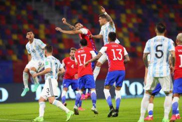 Argentina no tuvo una buena producción y empató con Chile